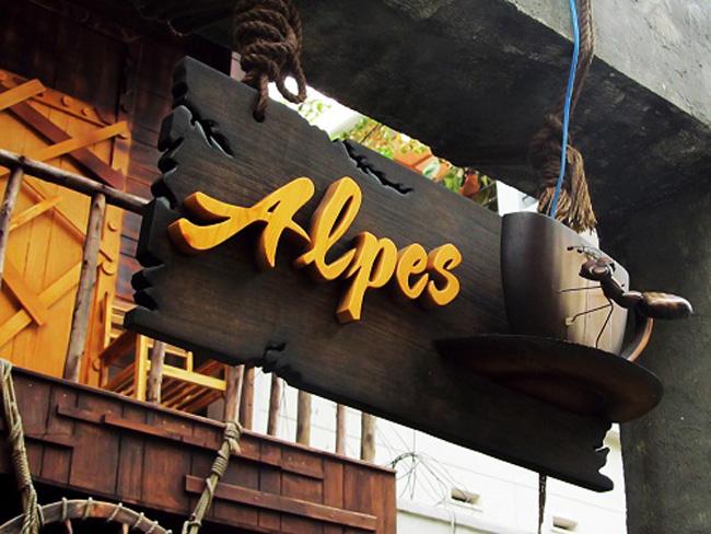 Biển gỗ quảng cáo