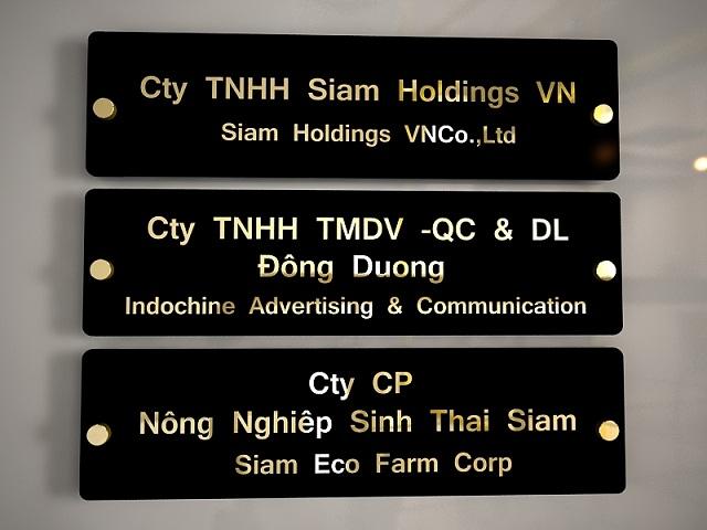 Dịch vụ thiết kế và thi công biển quảng cáo tại các tòa nhà, khu chung cư, khu công nghiệp