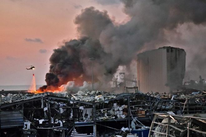 Vụ nổ kinh hoàng ở Beirut, Lebanon rúng động mạng xã hội ngày 4/8/2020